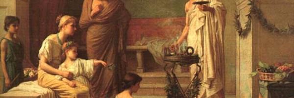 Η Λεόντιον και ο Επίκουρος